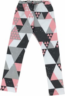 Leggings mit Dreieckmotiven